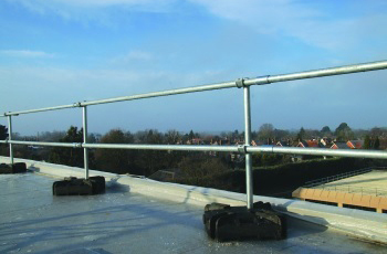 Edge Fall Protection Hastings Roof Guardrail Greymouth